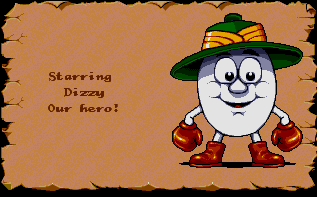 Dizzy - our hero!